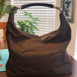 Gorgeous brown authentic Gucci Tote good Cond